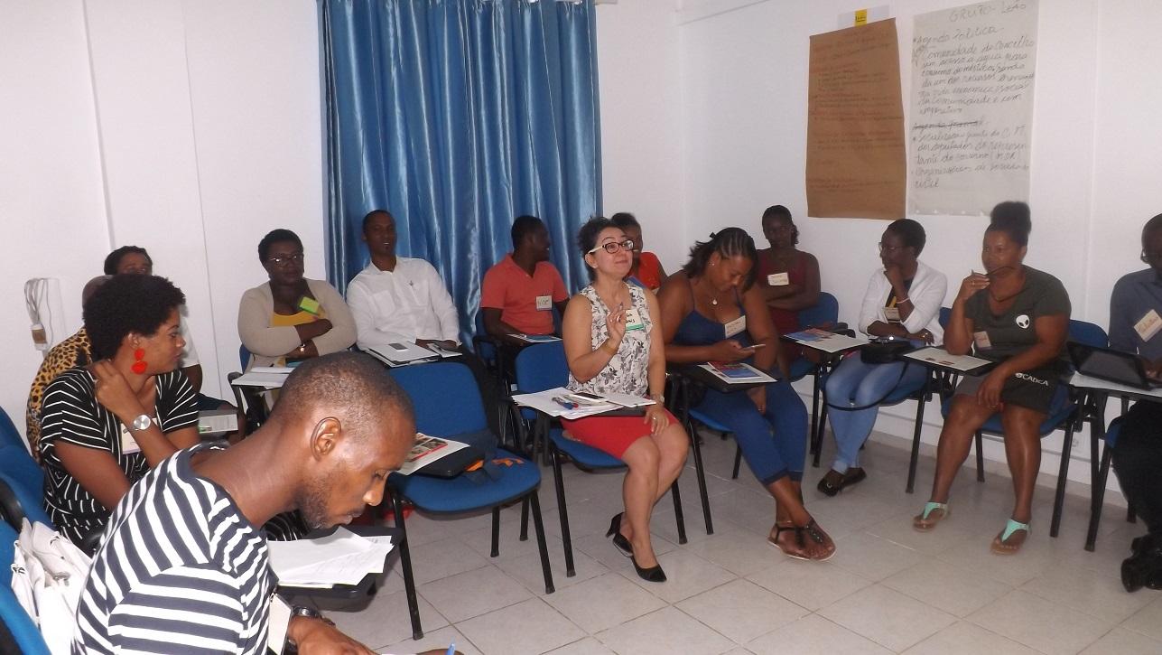 Plataforma das ONG's realiza em parceria com a CADCA- Community Anti Drug Coalition of America encontro com as Coalizões Comunitárias da cidade da Praia